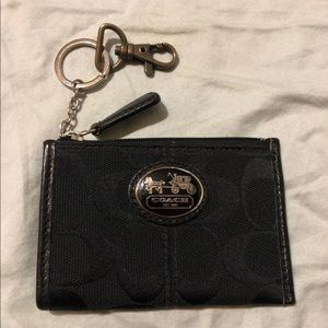 Coach wallet with key ring